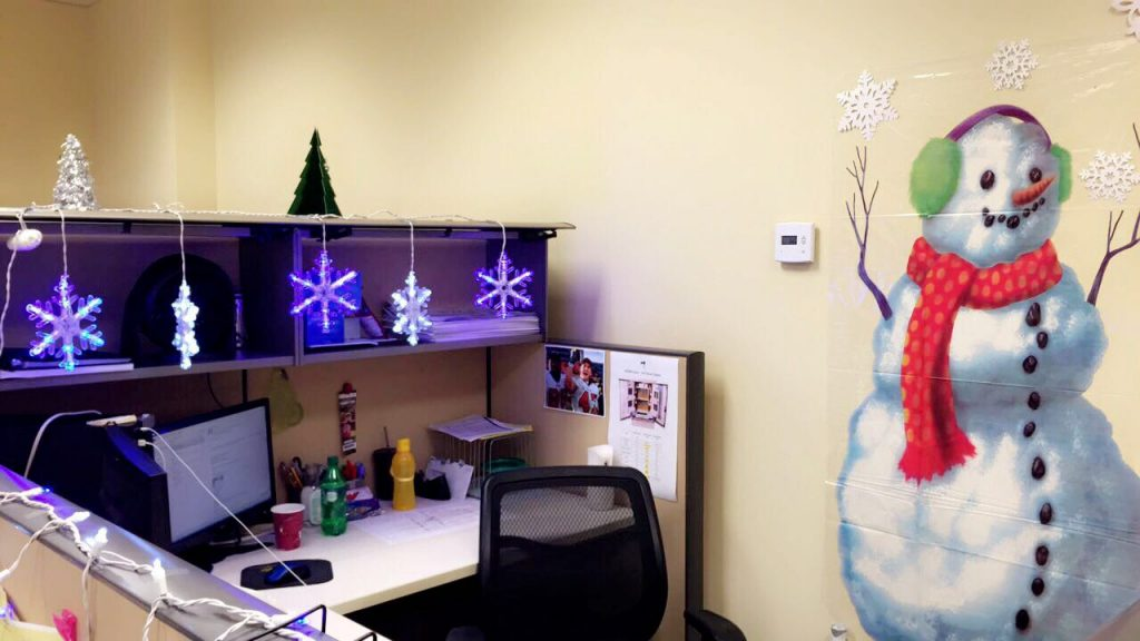 Kcw S First Holiday Cubicle Decorating Contest Kcw